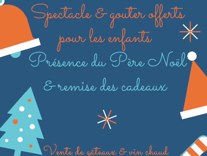 Permalien vers:Noël de l'Amicale Nouveauté vente de gâteaux et vin chaud pour les plus grands