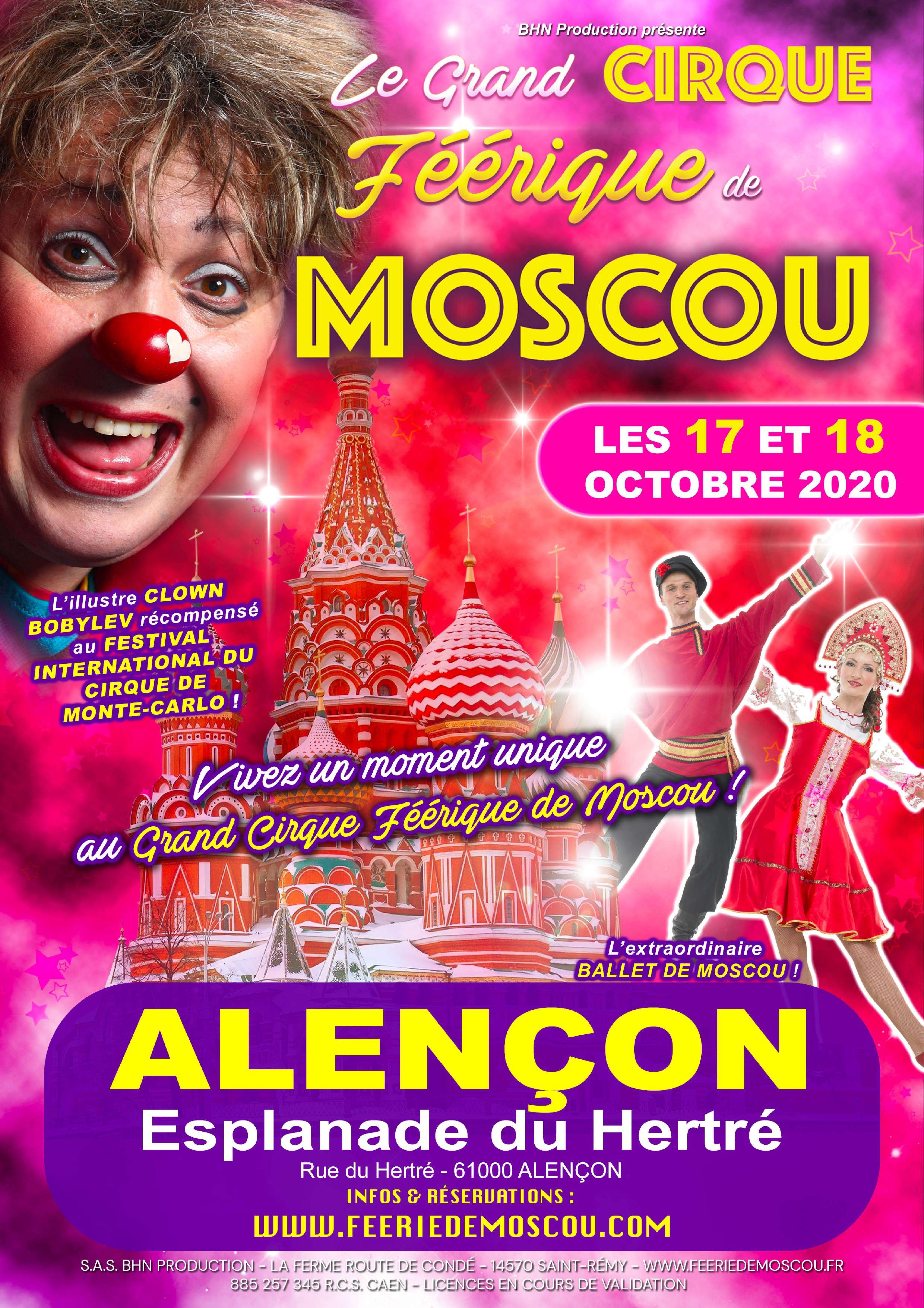 Permalien vers:cirque  de Moscou à Alençon les 17/18 octobre,